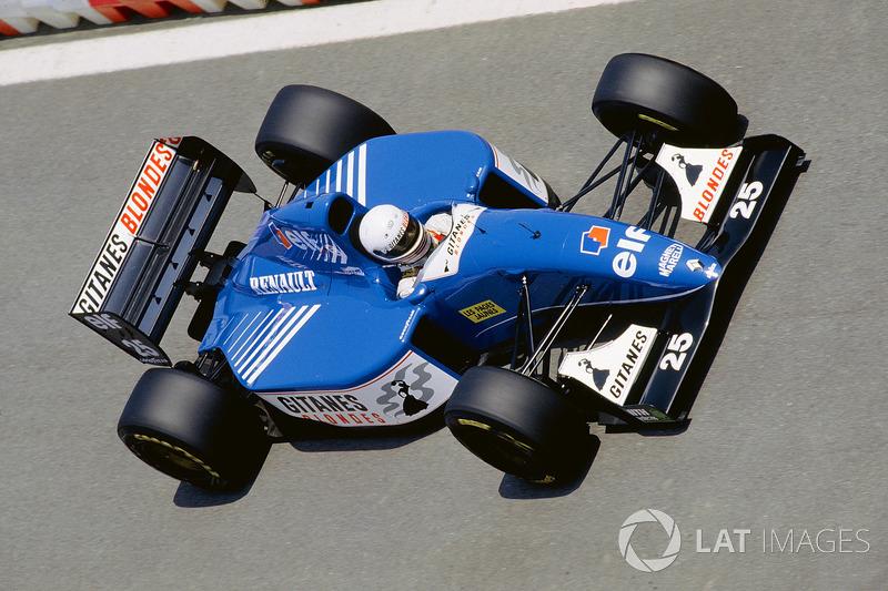 Martin Brundle, Ligier JS39 Renault