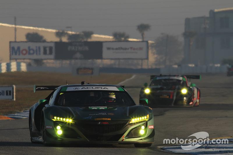 #36 CJ Wilson Racing Acura NSX GT3, GTD: Marc Miller, Till Bechtolsheimer, Kuno Wittmer