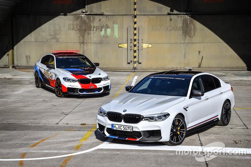 Автомобіль безпеки BMW M5 MotoGP та BMW M5