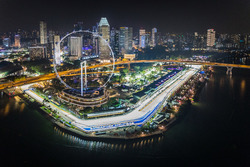 View of Singapore Flyer & Pit Building