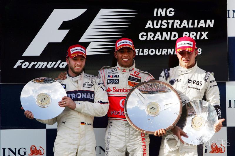 O GP da Austrália de 2008 ficou marcado como a prova que menos teve pilotos finalizando na última década. Apenas sete carros dos 22 foram até o final, mas apenas seis foram classificados, após a exclusão de Barrichello por uma infração.