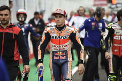Marc Marquez, Repsol Honda Team et d'autres pilotes quittent la grille