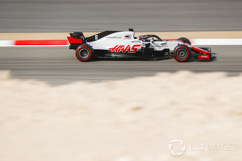 Romain Grosjean, Haas F1 Team VF-18 Ferrari