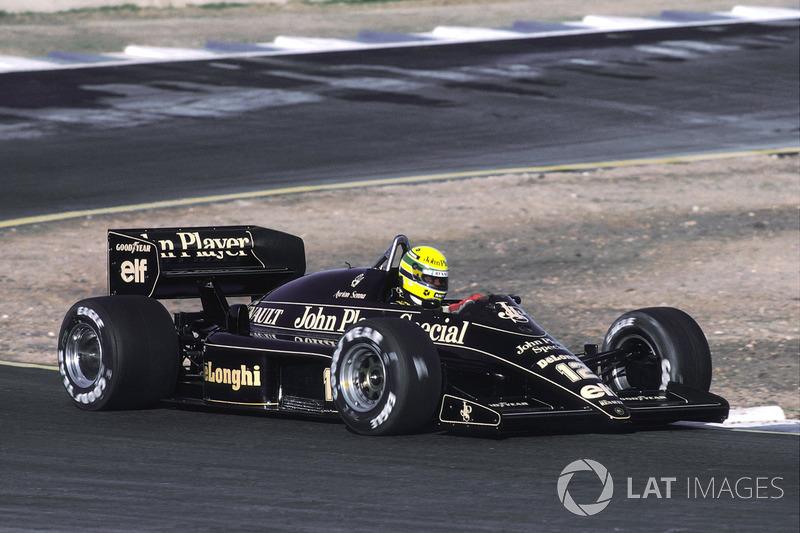 1986 İspanya: Lotus 98T