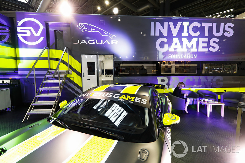 The Invictus Games Jaguar GT4 F-Type