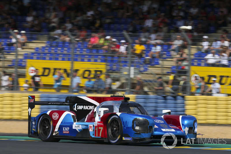 Stéphane Sarrazin: #17 SMP Racing BR Engineering BR1
