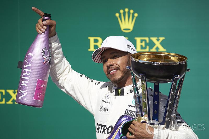 Ganador, Lewis Hamilton, Mercedes AMG F1 en Estados Unidos 2017