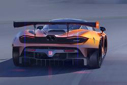 Рендеринг McLaren 720S GT3