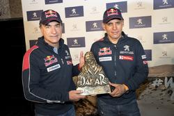 Carlos Sainz, Lucas Cruz, Peugeot Sport