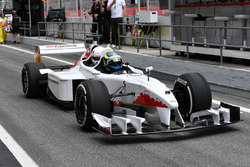 F1 Experiences 2-Seater passenger Barbara Palvin and Zsolt Baumgartner, F1 Experiences 2-Seater driver