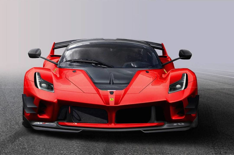 Road Legal Ferrari FXX-K Evo