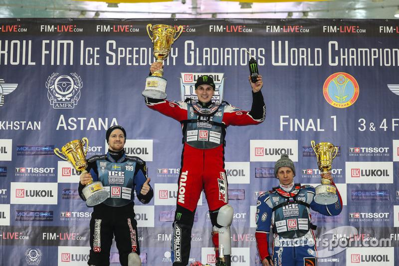 Третье место в первый день этапа в Астане занял Дмитрий Хомицевич. И кажется, он был ему не слишком рад – чемпион мира 2016 года явно рассчитывал на большее