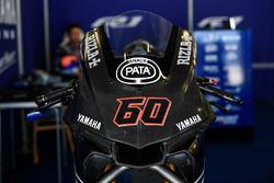 Pata Yamaha bike detail