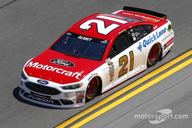 #21 Ryan Blaney (Wood-Ford)