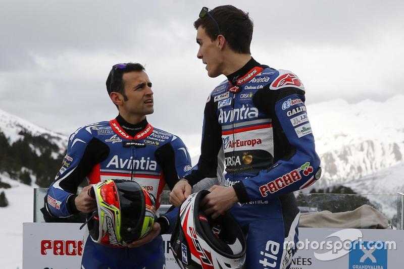 Hector Barbera und Loris Baz, Avintia Racing