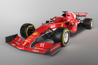 Concept 3D d'une Ferrari 2019