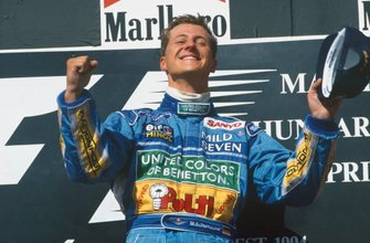 Race winner Michael Schumacher, Benetton B194