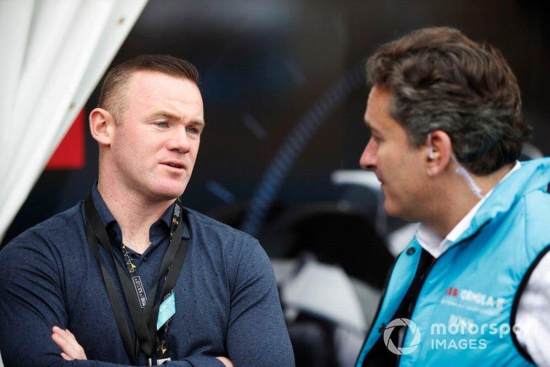 Wayne Rooney, Alejandro Agag, CEO, Formula E
