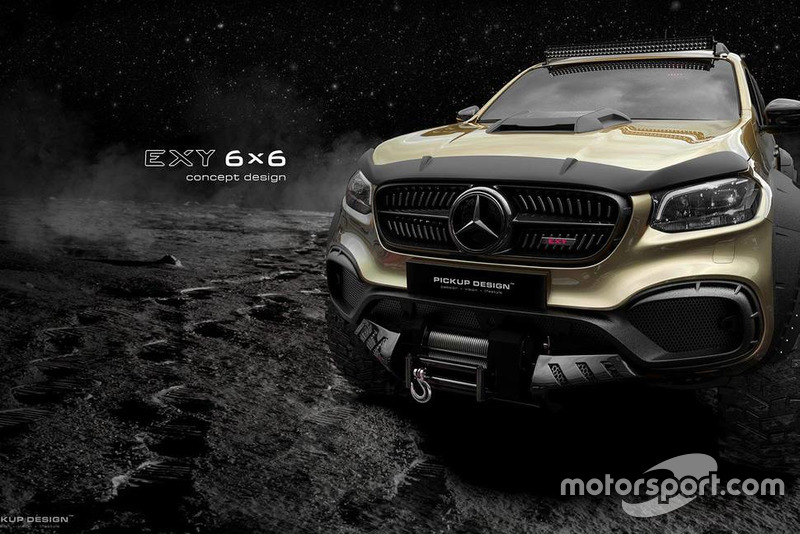 Mercedes-Benz X-Class 6X6 від Carlex Design