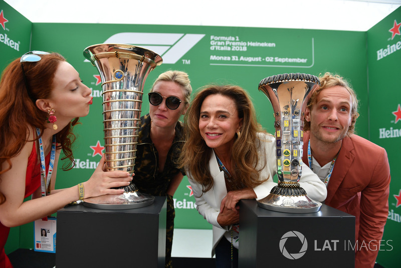 Гран При Италии: актеры Джулия Стайлз, Роксана Дюран, Лена Олин и Джек Фокс