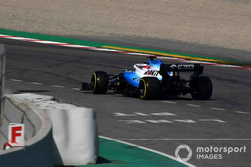 Trompo de Robert Kubica, Williams FW42