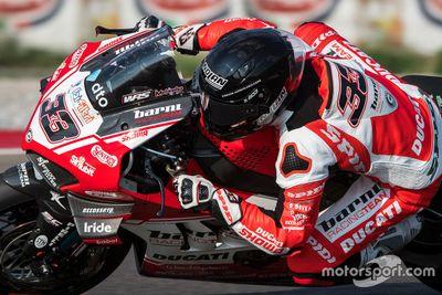 Marco Melandri testet für Barni-Ducati