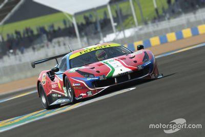 Ferrari Sanal Le Mans 24 Saat açıklaması