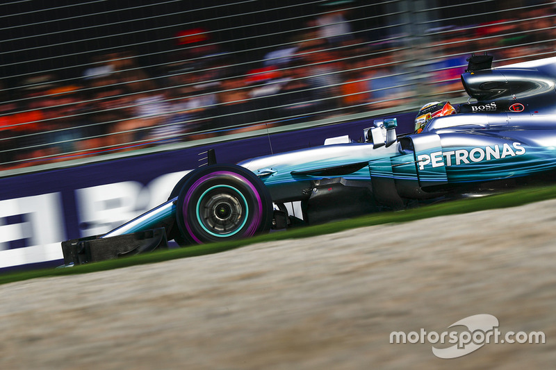 Lewis Hamilton comenzó la carrera 6 veces en Melbourne desde la Pole Position