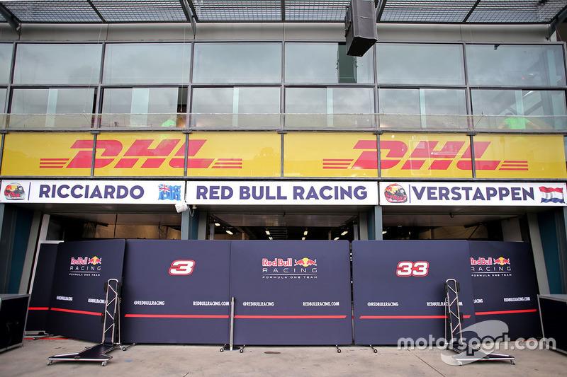 Garaje de Red Bull Racing