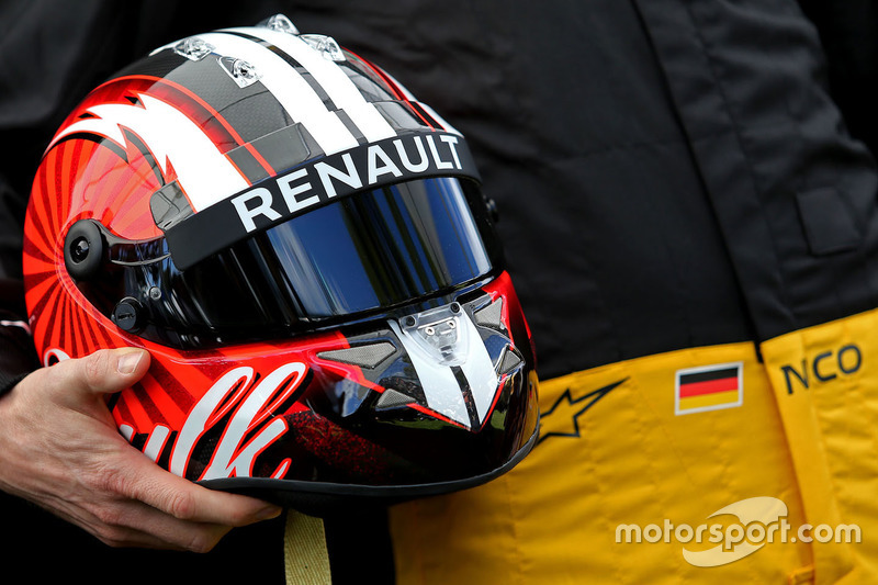 Helm von Nico Hülkenberg, Renault Sport F1 Team
