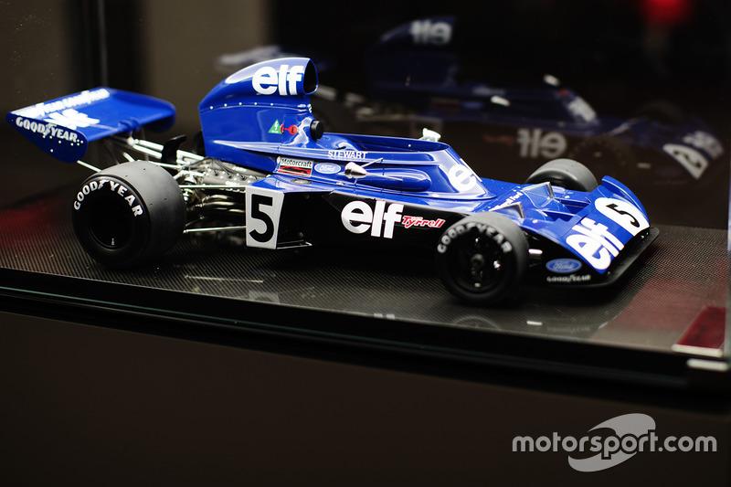 Modelo del Tyrrell de Jackie Stewart