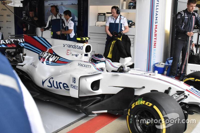 Nuevos bargeboards del Williams FW40