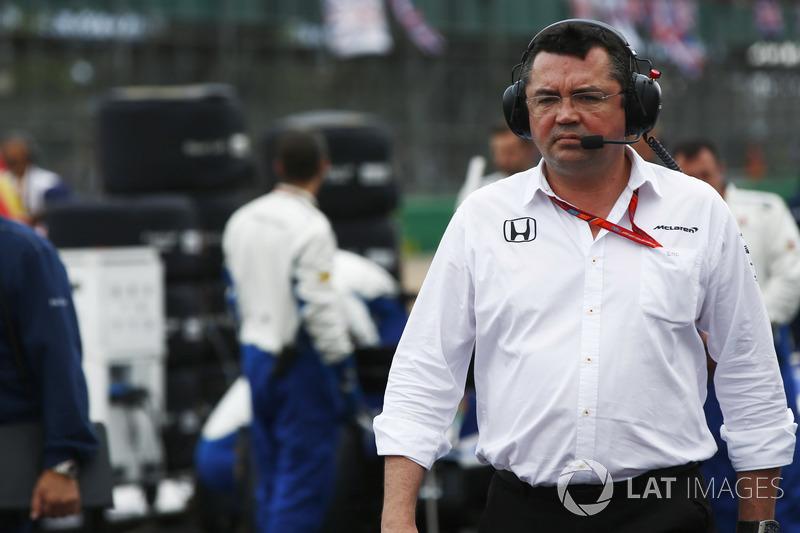Eric Boullier, Director de McLaren