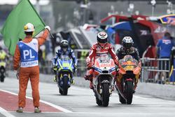 Jorge Lorenzo, Ducati Team, Pol Espargaro, Red Bull KTM Factory Racing, pit lane open