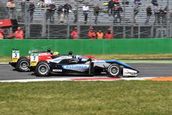 Ralf Aron, Hitech Grand Prix, Dallara F317 Mercedes-Benz; Maximilian Günther, Prema Powerteam Dalla