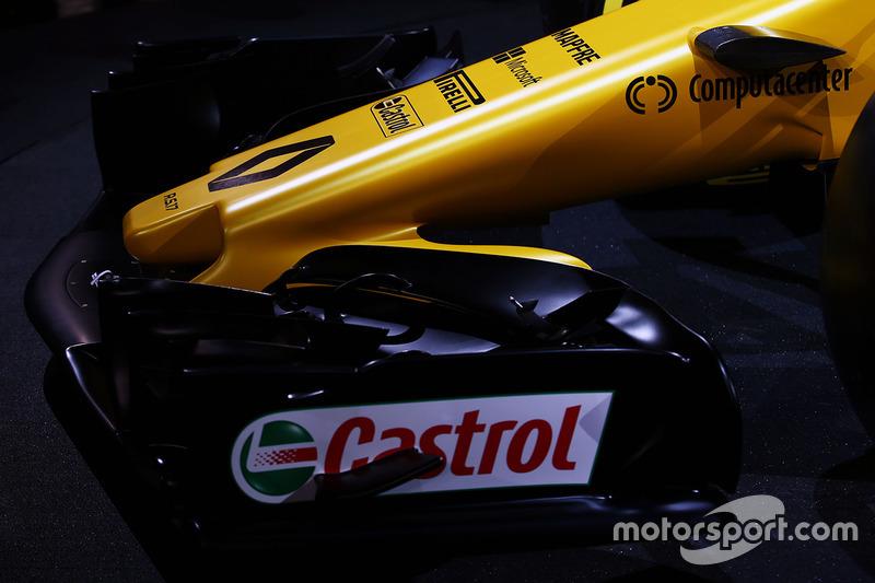 Деталь переднього антикрила Renault Sport F1 Team RS17