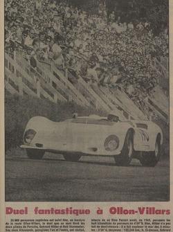 Tribune de Lausanne, article, duel, 1967