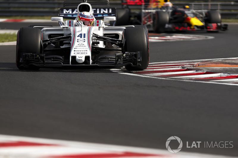 Лука Гіотто, Williams FW40, П'єрр Гаслі, Red Bull Racing RB13