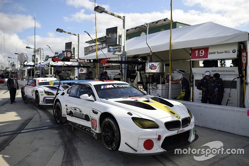 #19 BMW Team RLL BMW M6 GTLM: Bill Auberlen, Alexander Sims, Augusto Farfus, Bruno Spengler, #24 BMW