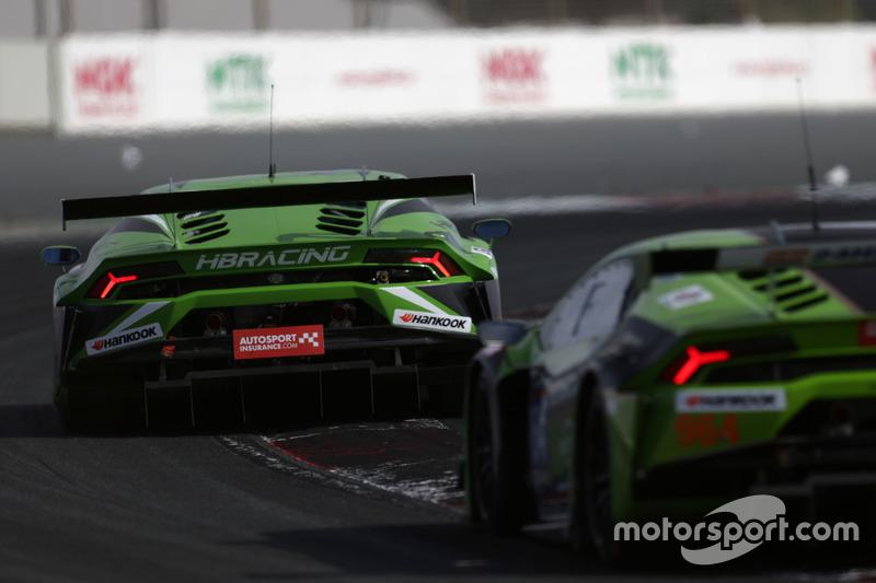 #7 HB Racing Lamborghini Huracan GT3: Herbert Handlos, Norbert Siedler, Sam Tordoff, Florian Spengle