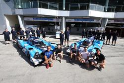 #25 Algarve Pro Racing Ligier JSP2 Nissan: Andrea Roda, Aidan Read, Andrea Pizzitola, #24 Algarve Pro Racing Ligier JSP2 Judd: Michael Munemann, Tacksung Kim, Mark Patterson