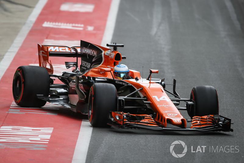 20. Fernando Alonso, McLaren MCL32
