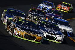 Ryan Newman, Richard Childress Racing Chevrolet, Chase Elliott, Hendrick Motorsports Chevrolet