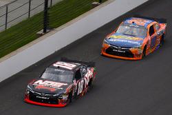 Kyle Busch, Joe Gibbs Racing Toyota and Erik Jones, Joe Gibbs Racing Toyota