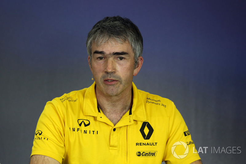 Nick Chester, Director de técnico de Renault Sport F1 Team RS17