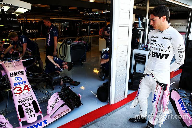 Alfonso Celis jr, Force India