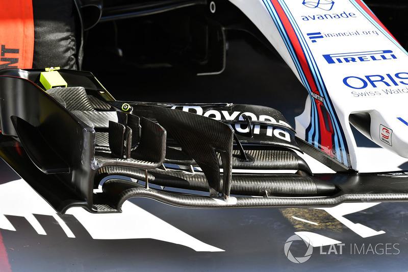 Williams FW40: Frontflügel