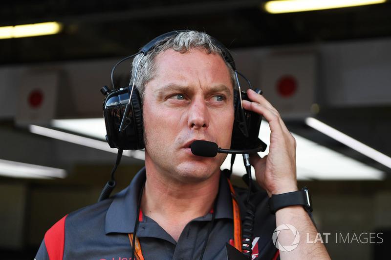 Stuart Cramp, Haas F1 Team Hoofdmonteur