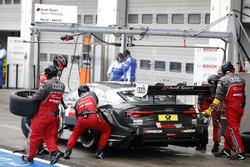 Boxenstopp: René Rast, Audi Sport Team Rosberg, Audi RS 5 DTM