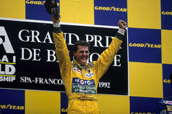 Podyum: 1. Michael Schumacher, Benetton